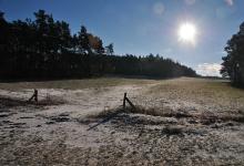 Zempow im Winter